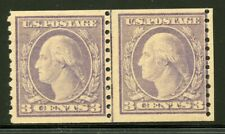 US Scott 493 Washington Joint Line Pair VF LH.