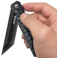 "OerLa EDC Pocket Folding Knife- Ball Bearing Quickly Open - 3.54"" Blade"