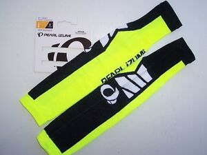 NEW - Pearl Izumi Select, Thermal-Lite Arm Warmers, Neon Yellow, S