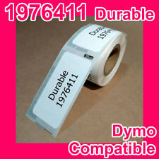 10 rolls of Compatible Dymo 1976411 Durable White Address Labels
