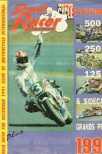 1991 Road Racer Scrapbook Motorcycle Magazine Back-Issue