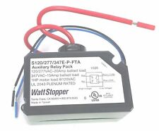 WATT STOPPER S120/277/347E-P 20A 120/277V 1P AUXILLARY RELAY PACK SWITCH