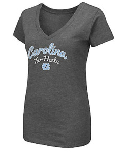 NEW Colosseum Athletics Women's North Carolina Team Font Arch T-Shirt Medium