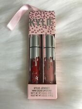 Kylie Cosmetics Mini Liquid Lipstick Set - MARY JO K & CHARM VELVET - UK SELLER