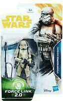 "Star Wars 3.75"" inch Stormtrooper (mimban) Force Link 2.0 Action Figure Hasbro"