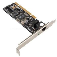 Gigabit Ethernet LAN Low Profile PCI Network Controller Card 10/100/1000 Top Hot