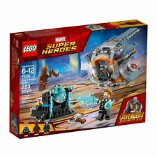 LEGO Marvel Avengers Infinity War Thor's Weapon Quest 76102 New Factory Sealed