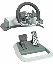 Genuine Microsoft XBox 360 Wireless Force Feedback Racing Wheel steering