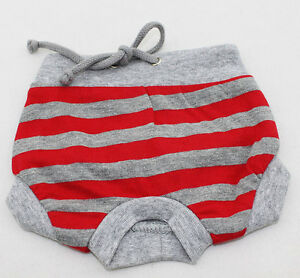 Dog panty, small dog, panties for small dogs shorts, 100% cotton Size XXS to XXL