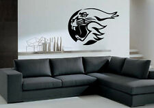 Tiger Head in Circle Roar Tribal Animal Decor Wall Mural Vinyl Art Sticker M371