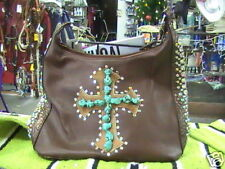 Purse with Turquoise Stones or Handbag