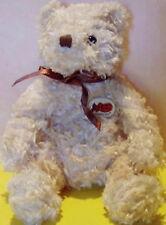 TY Beanie Baby HERSCHEL Cracker Barrel TEDDY BEAR MWMT Retired PLUSH Bean Bag!