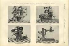 1900 Machine Tools By Smith And Coventry At The Paris Exhibition