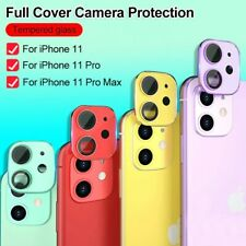 iPhone 11 pro max Full Cover Camera Lens Tempered Glass lens protector film
