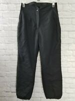 Vintage Ladies Obermeyer Sport Black Ski Snowboard Pants Size 12