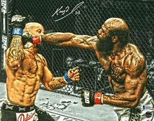 Kimbo Slice Signed 11x14 Photo BAS Beckett COA UFC 10 Picture Autograph Bellator