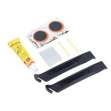 Cycling Bike Bicycle Repair Tire Tyre Levers Tool Kit Rubber Patches Maintenance