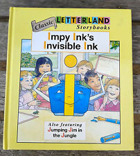 New Letterland Book Impy Ink's Invisible Ink hardback Unread
