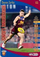 ✺New✺ 2020 BRISBANE LIONS AFL Card DAYNE ZORKO Teamcoach
