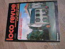 $$u Loco Revue N°415 050.T Fleischmann  Caen  immeubles  modelisme atmosphere