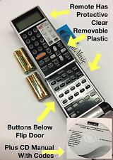 Rotel RR-1061 Universal Learning Remote Control with CD Manual & Codes RR1061
