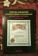 Stocks and Bonds of North American Railroads: Terry Cox
