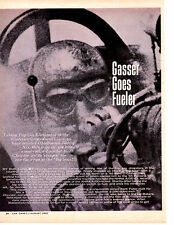 1965 JIMMY NIX / TOP FUEL DRAG RACING  ~  ORIGINAL 5-PAGE ARTICLE