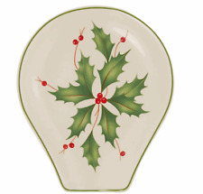 Lenox Holiday Holly Spoon Rest