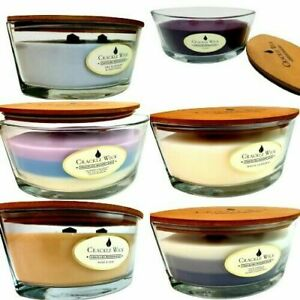 Crackle wick large candles 485 g 2 crackling wood wick.Rose , vanilla, 🍒 cherry