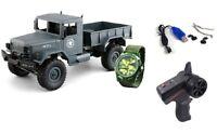 RC U.S. Militär Truck 4WD 1:16 RTR grau + Uhr inkl Akku und Ladegerät