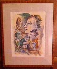 BORIS DEUTSCH 1892-1978 LITHUANIA AMERICAN CALIFORNIA MODERNIST IMPRESSIONIST