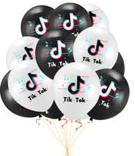 tik tok tiktok music theme Birthday Party Decoration BALLOON supplies disco ball
