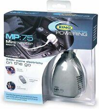 More details for ring mp75 12v to 240v inverter rinv75 with flexible plug