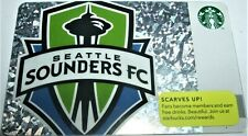 Never Used! Starbucks 2013 Sounders FC Scarves Up Gift Card Free Shipping!