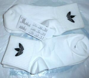 New 2020  Pack White Genuine Adidas Sports Low Cut Trainer Socks  Size -5-7