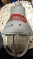 Crouse Hinds EV 505 M64 Explosion Proof Vintage Industrial Light Fixture