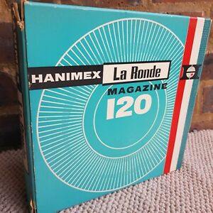 HANIMEX LA RONDE 120 35MM SLIDE MAGAZINE BOXED FOR USE WITH PROJECTORS