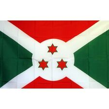 Burundi Country flag Banner Sign 3' x 5 Foot  Polyester Grommets
