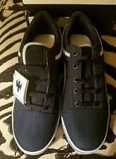 RAYADOS MONTERREY SNEAKERS MEN OFFICIAL PRODUCT BLUE DENIM SIZE 8 USA 6 MEX