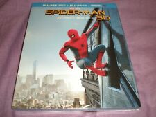 Spider-Man: Homecoming (2017, Blu-Ray + Blu-Ray 3D + Digital)