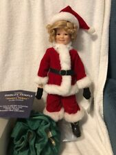 """""""Santa's Helper"""" The Shirley Temple Christmas Doll Collection"""