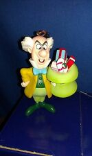 "ALICE IN WONDERLAND ""MAD HATTER"" ORNAMENT GROLIER PRESIDENTS COLLECTION"