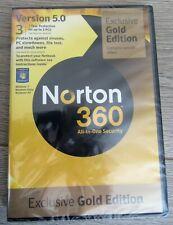 Norton 360 Exclusive Gold Edition Version 5.0