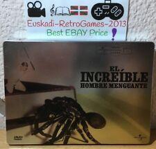 """""""El increíble hombre menguante"""" Ed. Metal 1957 (RARE) DVD"""