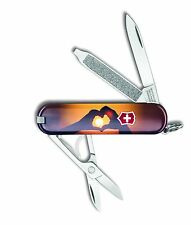 Victorinox Swiss Army Key Chain Knife Classic Ltd Ed -  Love - Free Shipping