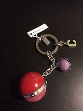 NWT COACH Orbit Multi-color Mix Balls Key Ring Chain F65160