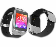 Skinomi Brushed Aluminum Skin+Screen Protector for Samsung Galaxy Gear 2 Watch