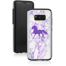 Marble Shockproof Hard Case Cover Protector For Samsung Galaxy Horse