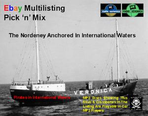 Pirate Radio Veronica PICK n' MIX (MULTILISTING) **Updated 4th December 2020