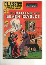 Classics Illustrated #52 House of the Seven Gables ORIGINAL HRN #53 1948 Fn- 5.0